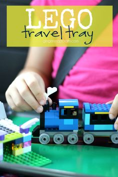 Lego Travel Tray at