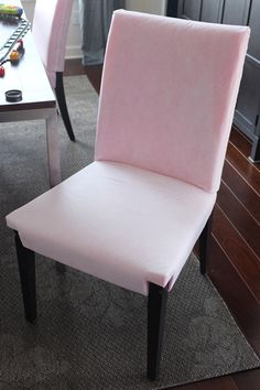 Making a Chair Slipcover Pattern