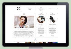 Feyt 01 / creative direction Roanne Adams (Studio RoAndCo). design Lotta Nieminen. via September Industry #web #identity