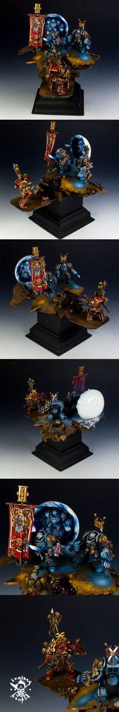 40k - Grey Knights Kill Team by ichibanpainting