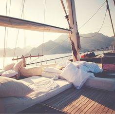 sailboat napping