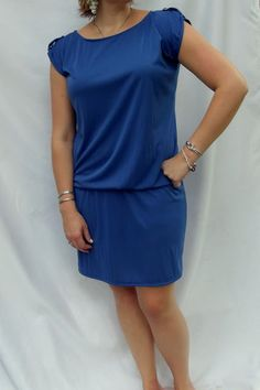 Morning by Morning Productions: Drop Elastic Waist Dress Tutorial