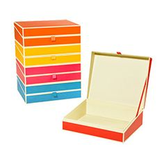The Container Store > Semikolon Document Box Spring Collection
