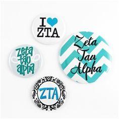 Zeta Tau Alpha Bid Day Magnets