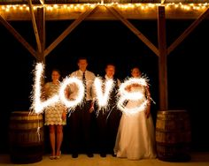 20 Inch Sparklers Wedding Package
