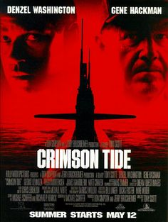 Crimson Tide Movie 1995  Denzel Washington  Gene Hackman