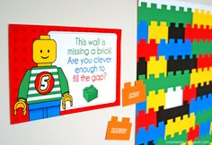 Lego party game