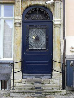 castl, black doors, blue doors, door colors, poster