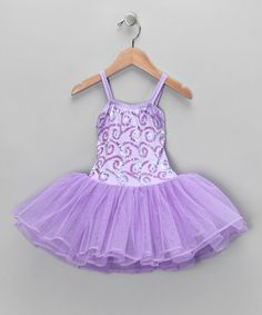 Take a look at this Light Purple Stella Luna Skirted Leotard - Toddler & Girls by Fairy Dreams on #zulily today!