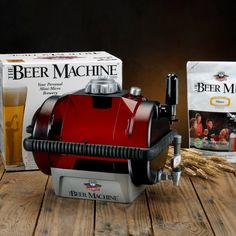 Beer Mixes for the Beer Machine  $99.95 additional mixes $10.95 each    