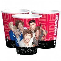 One Direction Bekers - Sisters in Wonderland parti cup, 1d parti, birthday parties, parti paper, direct birthday, one direction party, parti suppli, paper cups, direct parti