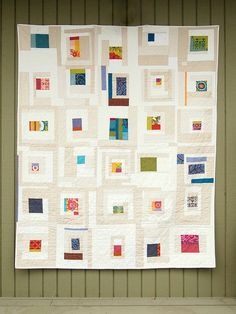 Very Modern Quilt !!!  Love it.