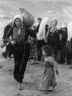 1948 saw over 500 Palestinian villages destroyed. Fleeing the violence, hundreds of thousands found homes in squalid, teeming refugee camps in Jordan, Syria and Lebanon. Many more remained, to be concentrated over the years into the areas we now know as the West Bank and Gaza Strip.    The Palestinians call this event (as Aisha points out in the extract above) 'Al Nakba' or the catastrophe. It forms the background to Olives because it's the background to the story of Aisha's family in the book.