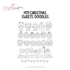 MTF Christmas Sweets Doodles font
