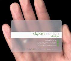 unique business card design - cool