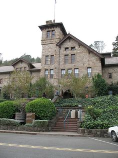 Culinary Institute of America, Napa Valley. Can't wait to eat here again! What a gorgeous outdoor view of the vineyards