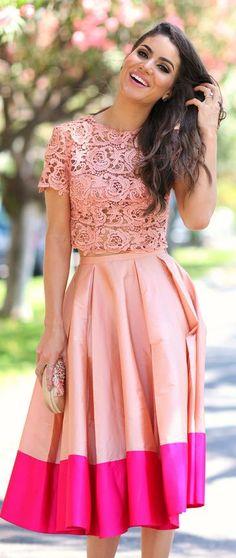 Alfreda Pink Women's Crop Crochet Top by Super Vaidosa