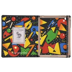 Jazz Design iPad Cases by Paul Stickland for PatternStore on Zazzle.