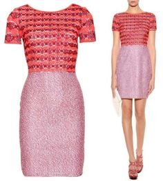 Missoni Combines Satsuma Orange Deep Red And White To Give This