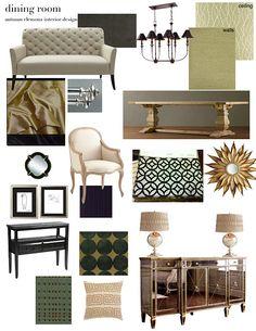 design plan: formal dining room