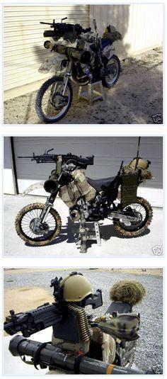 Combat Motorcycle -