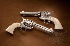Rare guns from the NRA Museum - Engraved Colt Single Action Armys