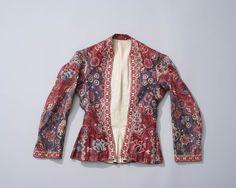 print chintz, floral designs, fashion pre1800