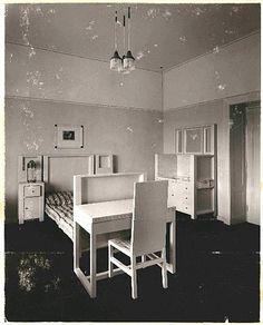 Josef Hoffmann, Purkersdorf Sanatorium interior