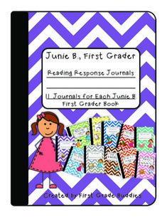 Junie B., First Grader: Reading Response Journals for ALL 11 Books