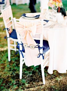 navy blue and coral wedding- just love these colors!