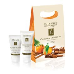 Eminence Clementine Spice Gift Set |  Organic Spa Magazine's 2013 Gift Guide: Home Spa Goer | @Éminence Organic Skin Care #OrganicSpaMagazine