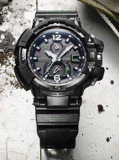 Casio G-Shock Gravity Defier Aviator #watch #Casio #G-Shock