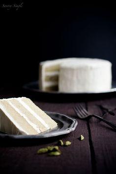 Cardamom Vanilla Bean Layer Cak