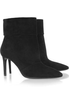 SAINT LAURENT Suede ankle boots £625