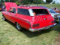 dodg, beach wagon, red wagon, chrysler car, station wagon
