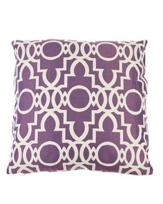 #Orchid throw pillow. We love this pattern! #HomeDecor