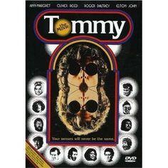 Tommy film, music, rock opera, tommi 1975, movi poster, ken russel, favorit movi, rocks, elton john