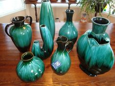 Blue Mountain pottery.