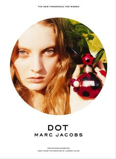 Dot campaign, featuring model Codie Young.  Photographer: Juergen Teller.