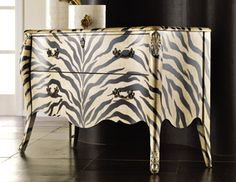 I pinned this from the Safari Chic - Animal Print Furniture & Accents event at Joss and Main!