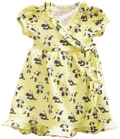 Panda print summer dress