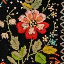 fabric, clothes, other flowers - Search - Ethnographic Pattern Book