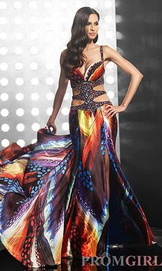Tackiest Prom Dresses of 2013 - It makes me feel good to know that the kids laughing at my prom dress from 20 years ago will have their own kids laughing at theirs from now