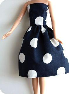 Barbie doll dress