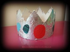Q for queen - Super simple last minute crowns made from 2 kitchen items
