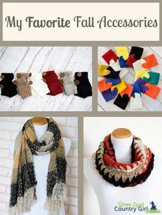 Fall Accessories I Love #FashionFriday #fashion #fall