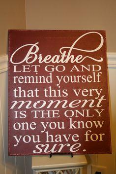 Breathe Subway Art