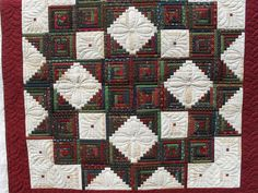 Log Cabin by Jessica's Quilting Studio, via Flickr