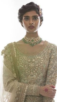 #IndianBride by http://www.sabyasachi.com/ <3