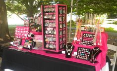 Sugarraindrops Jewelry Display Booth by sugarraindrops_, via Flickr